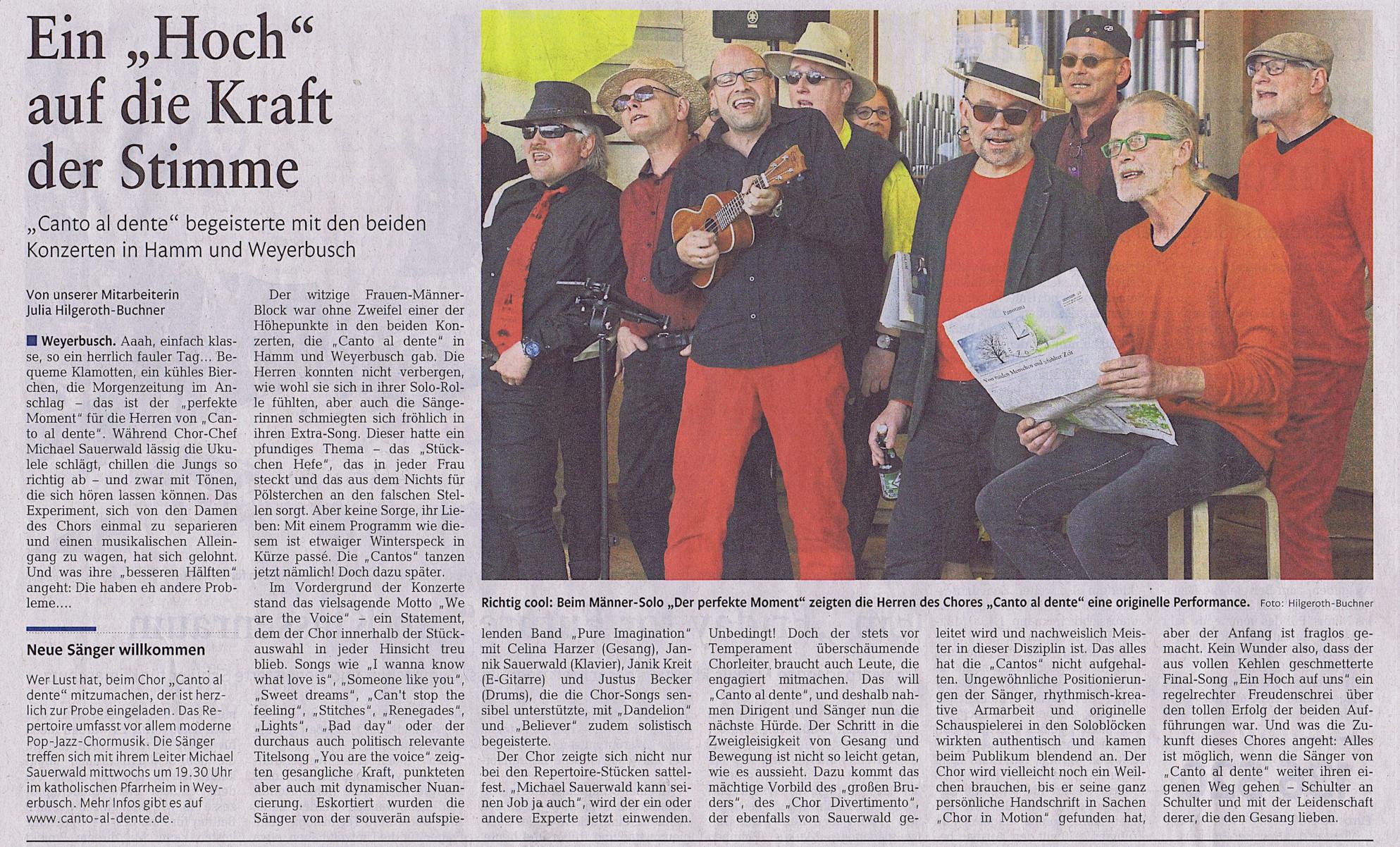 mit freundlicher Genehmigung der Rhein-Zeitung, Ausgabe H, vom 02.04.2019, Seite 17